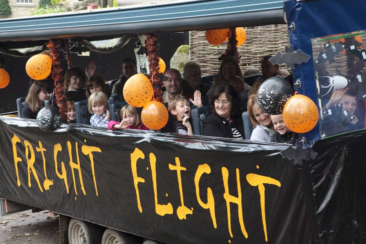 Fright Flight - Half Term Halloween Hoot, Chatsworth