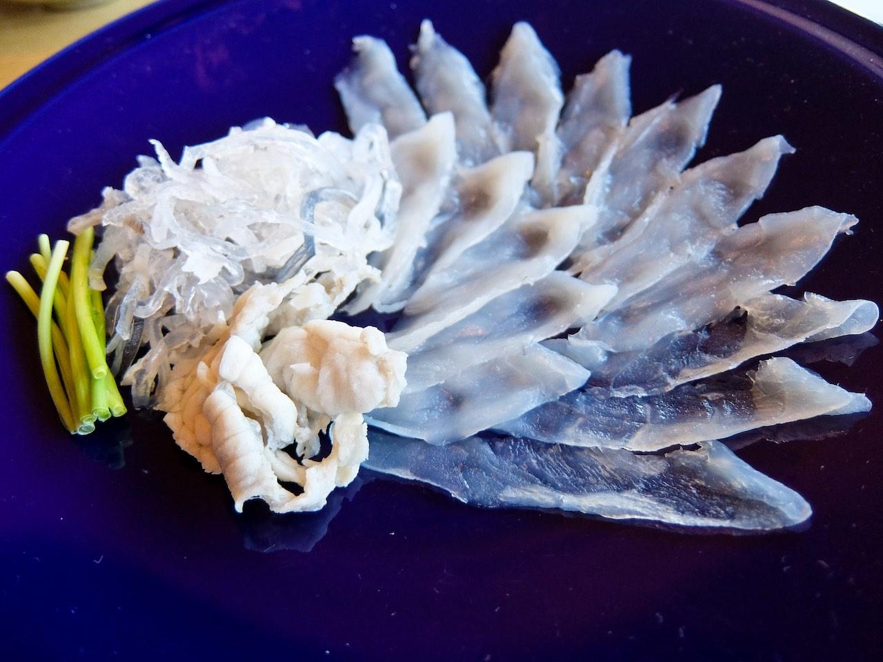 Fugu Fish Appetiser