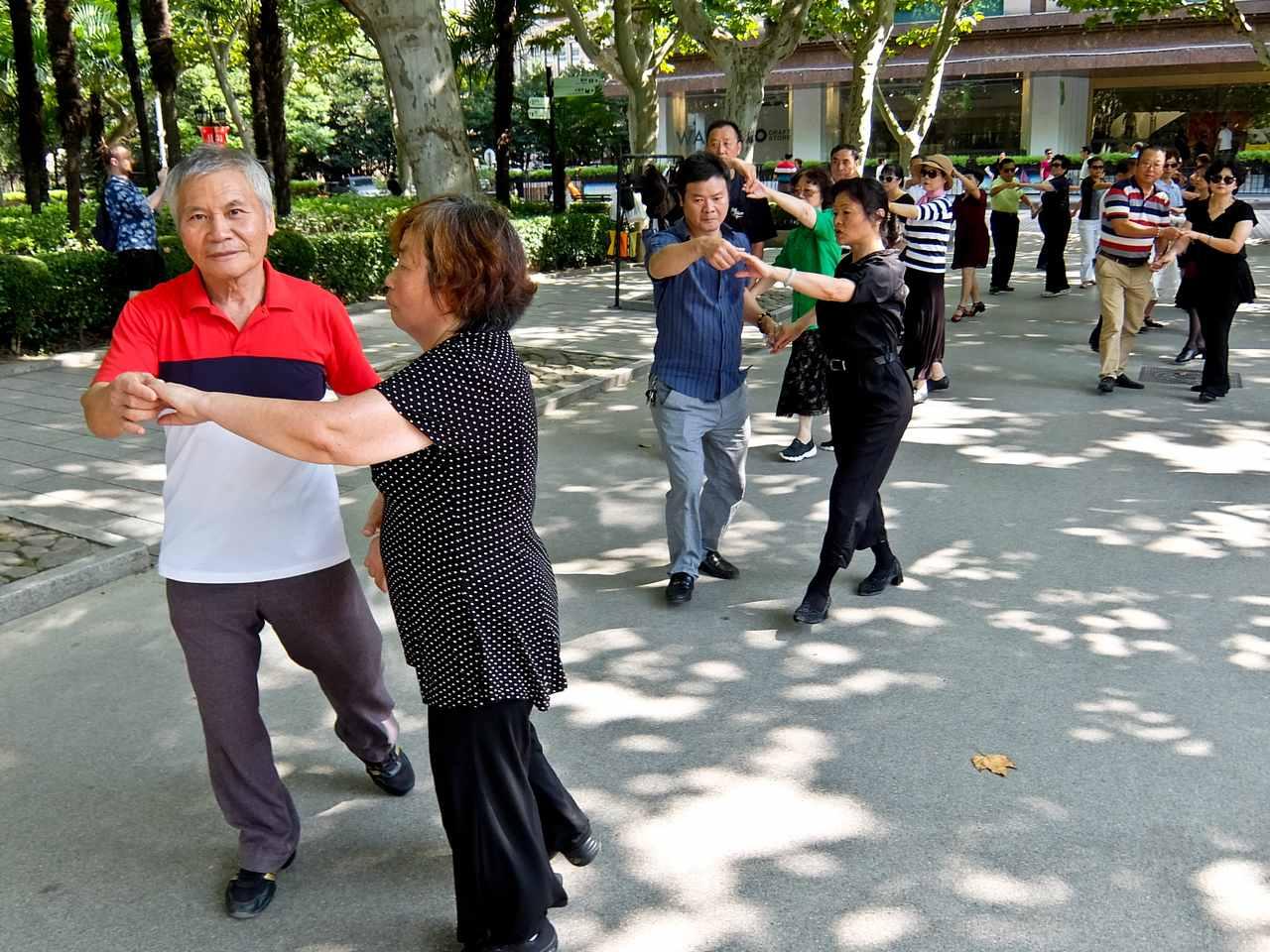Fuxing Park Dancing