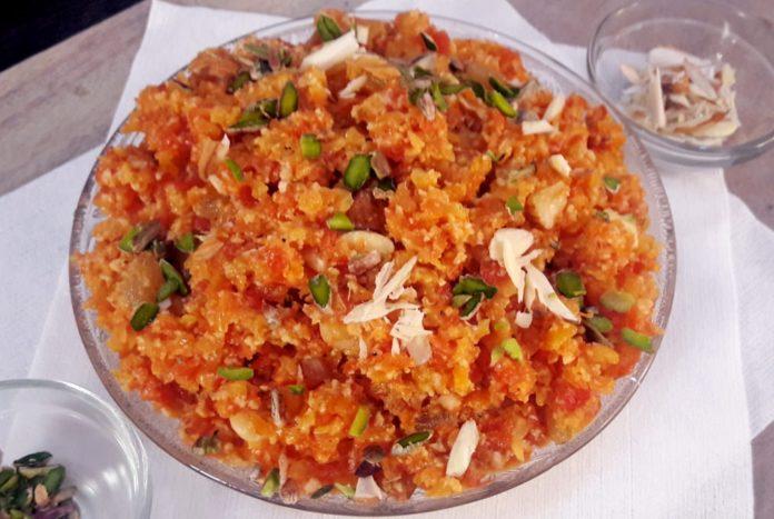 Gajar ka - street food of Northern India