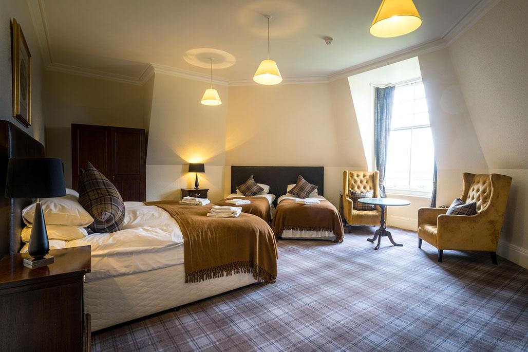 Gartmore House - bedroom