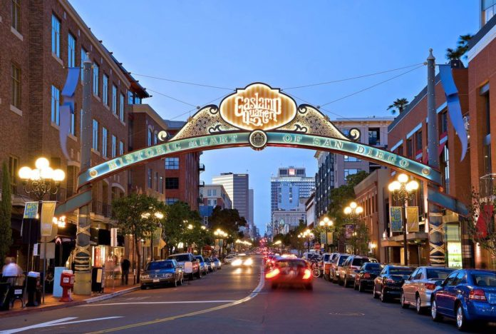 Gaslamp Sign, San Diego