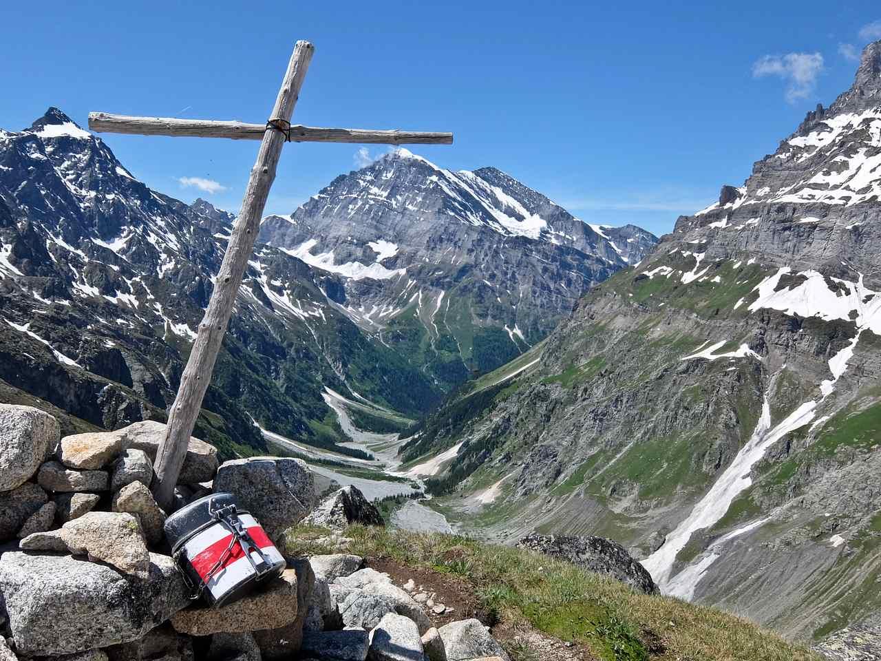 Gasterntal from Kanderfirn Glacier