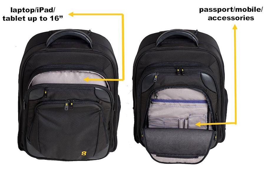 Gate8 Cabin Mate - laptop bag
