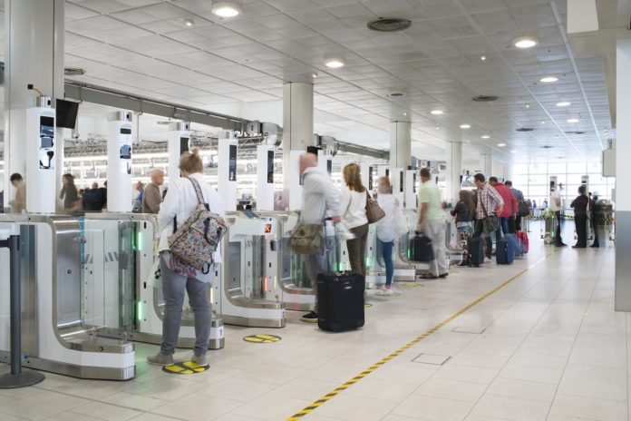 Gatwick Airport security North Terminal