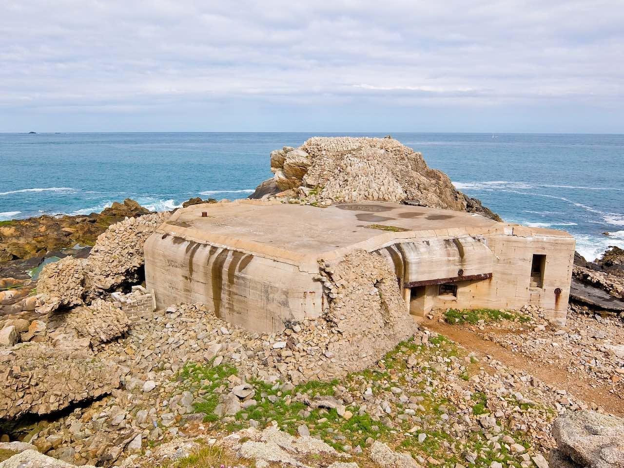 German Bunker Alderney