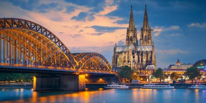 Germany Rhine Cologne river cruise