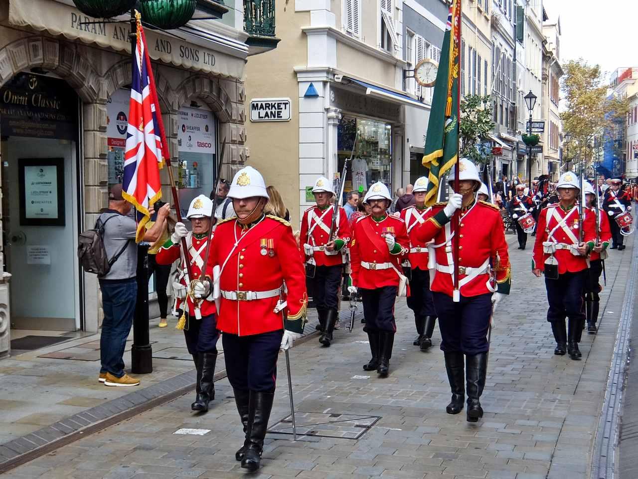Gibraltar Redcoats
