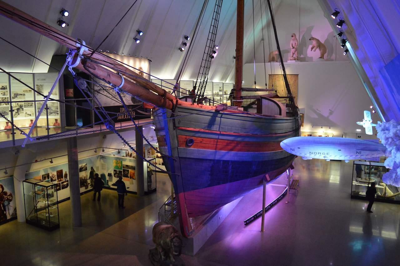 Gjøa ship, Fram Museum, Oslo