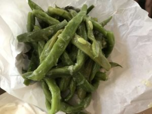 Green beans from Jericho North Abraxas