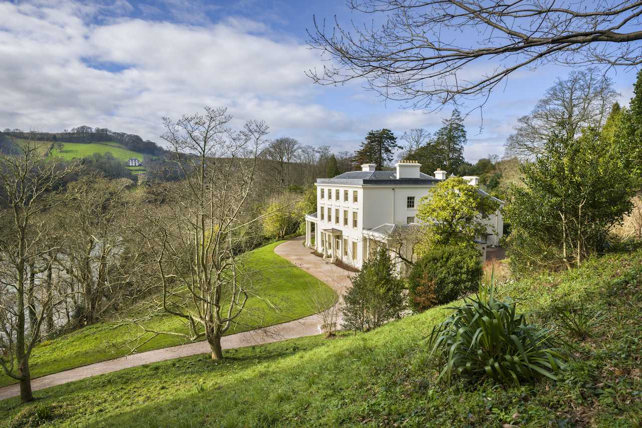 Greenway in Devon was the holiday home of Agatha Christie