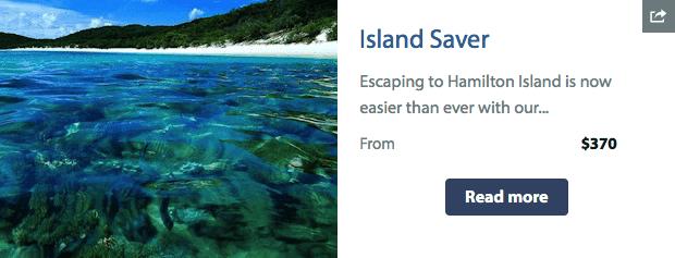 Hamilton Island - Island Saver