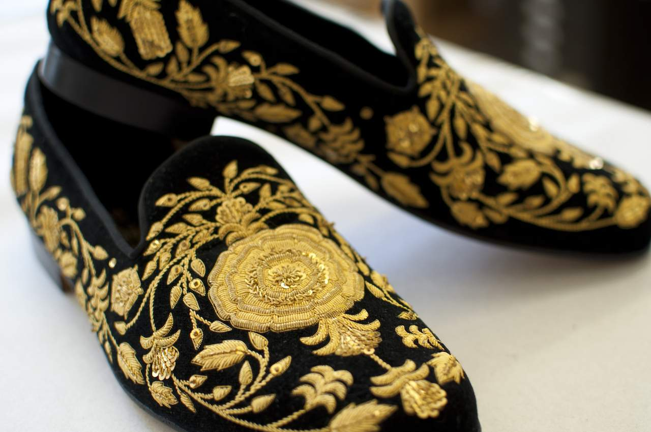 Hand & Lock ornate slippers
