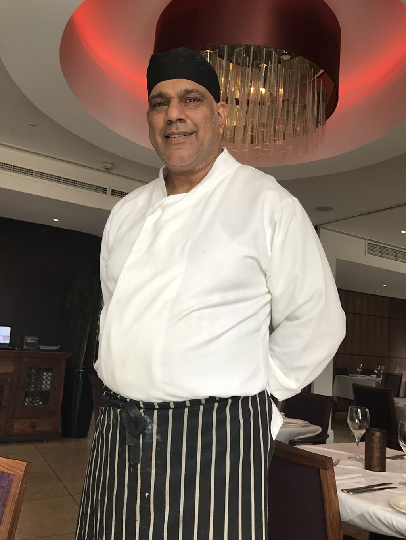 Harjeet Singh, chef at Bombay Palace, London