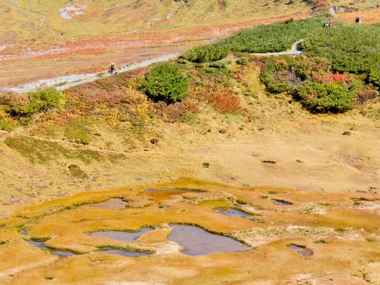 Hiking from Tateyama - Chinoike
