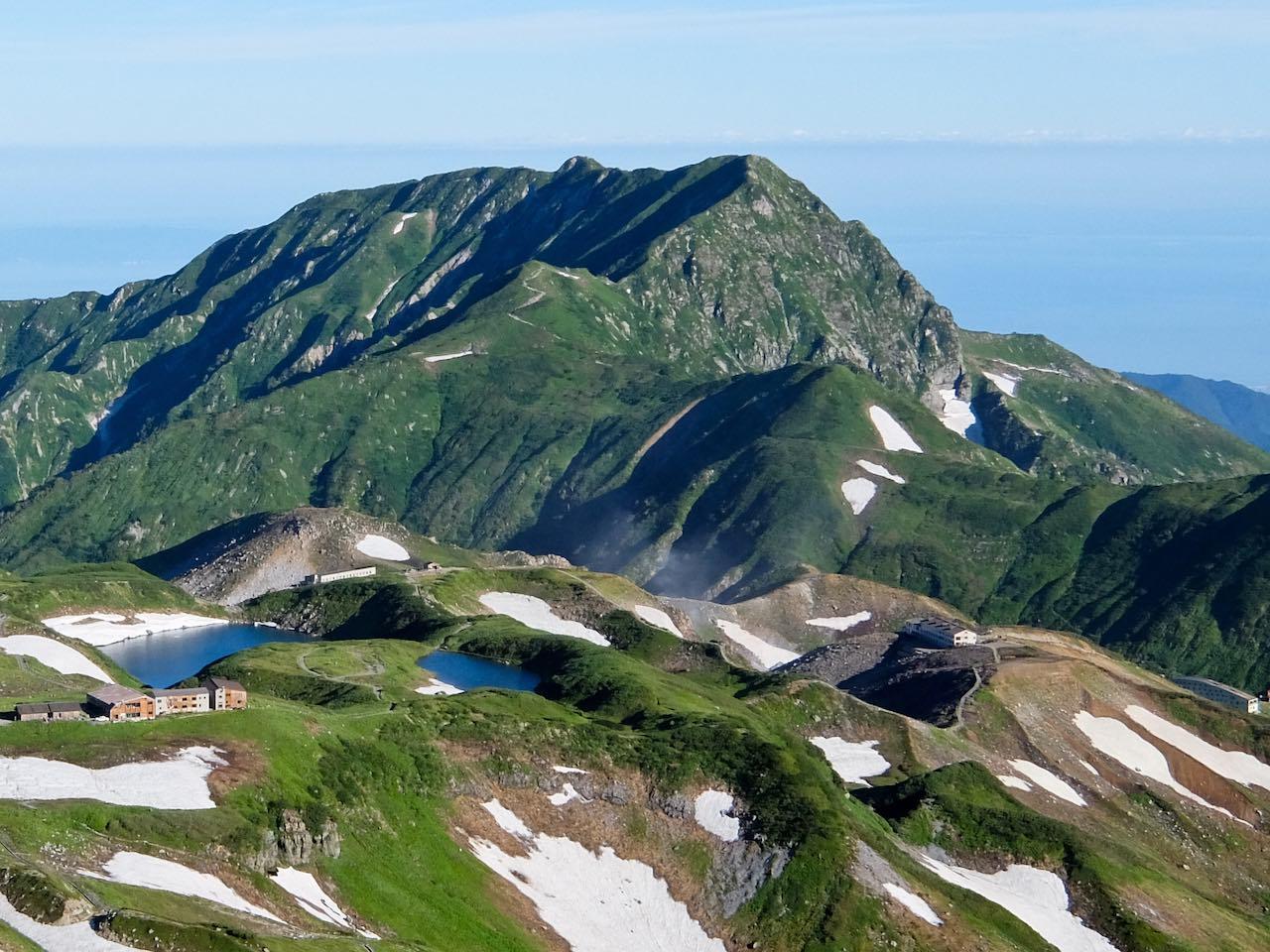 Hiking from Tateyama - Murodo