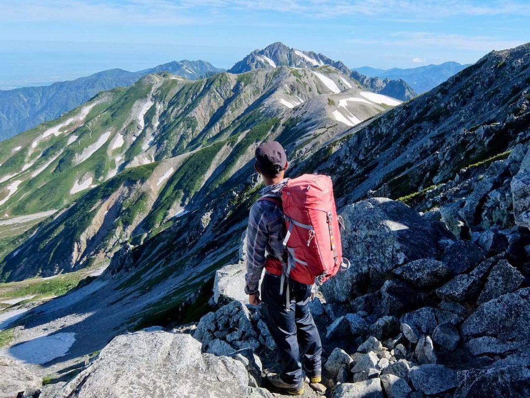 Hiking from Tateyama - Tateyama Ridge