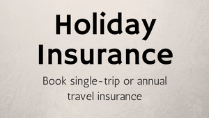 Book single-trip or annual travel insurance