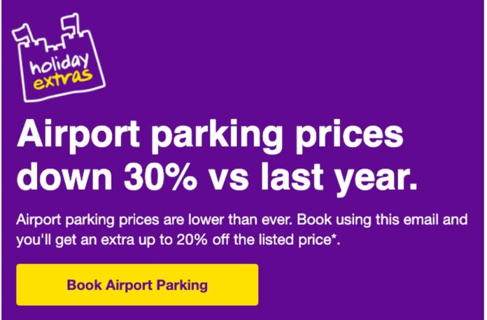 Airport Parking Ad