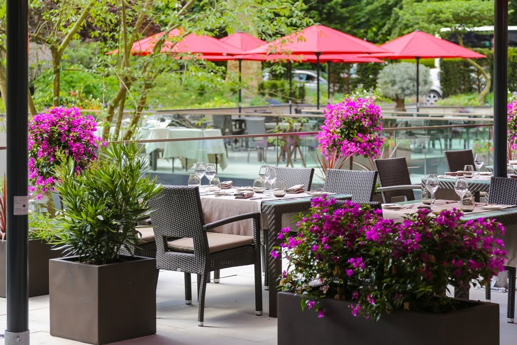 Hotel Le Royal Luxembourg - Amelys restaurant terrace