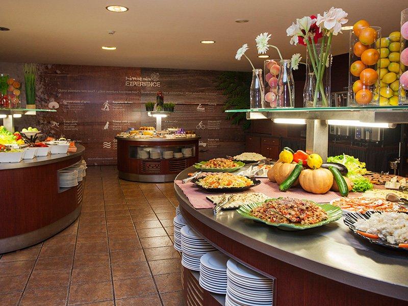 Hotel Piolets Soldeu Centre buffet