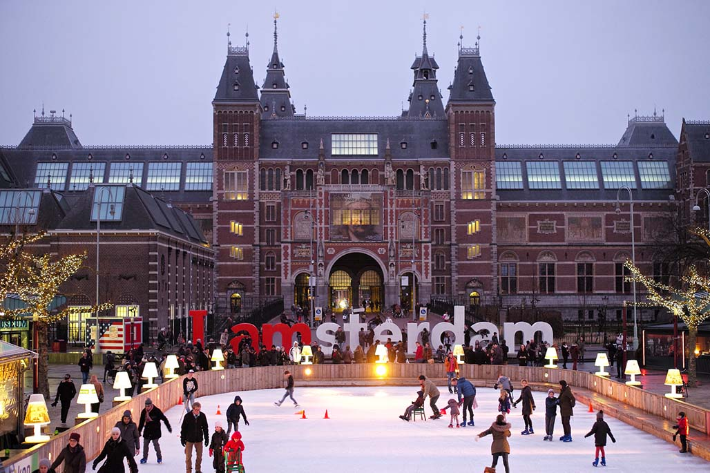 I amsterdam skating ring