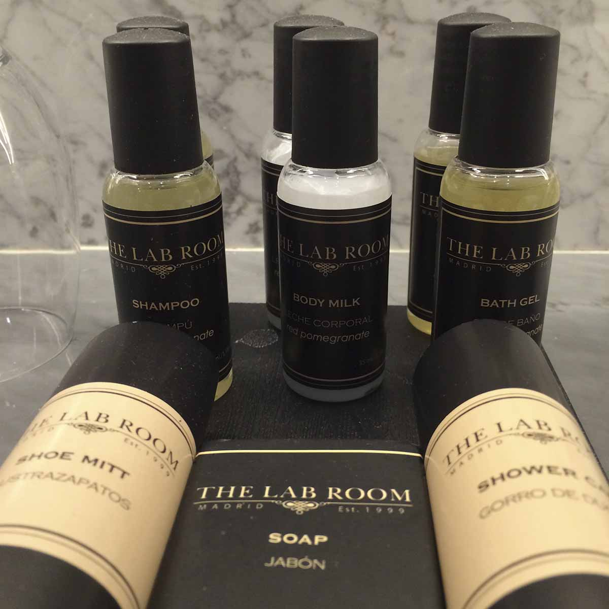 URSO Hotel, Madrid: toiletries