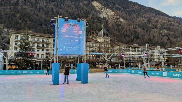 Ice Skating Interlaken