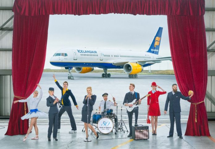 Icelandair Prepare Stopover for a Flying Ovation