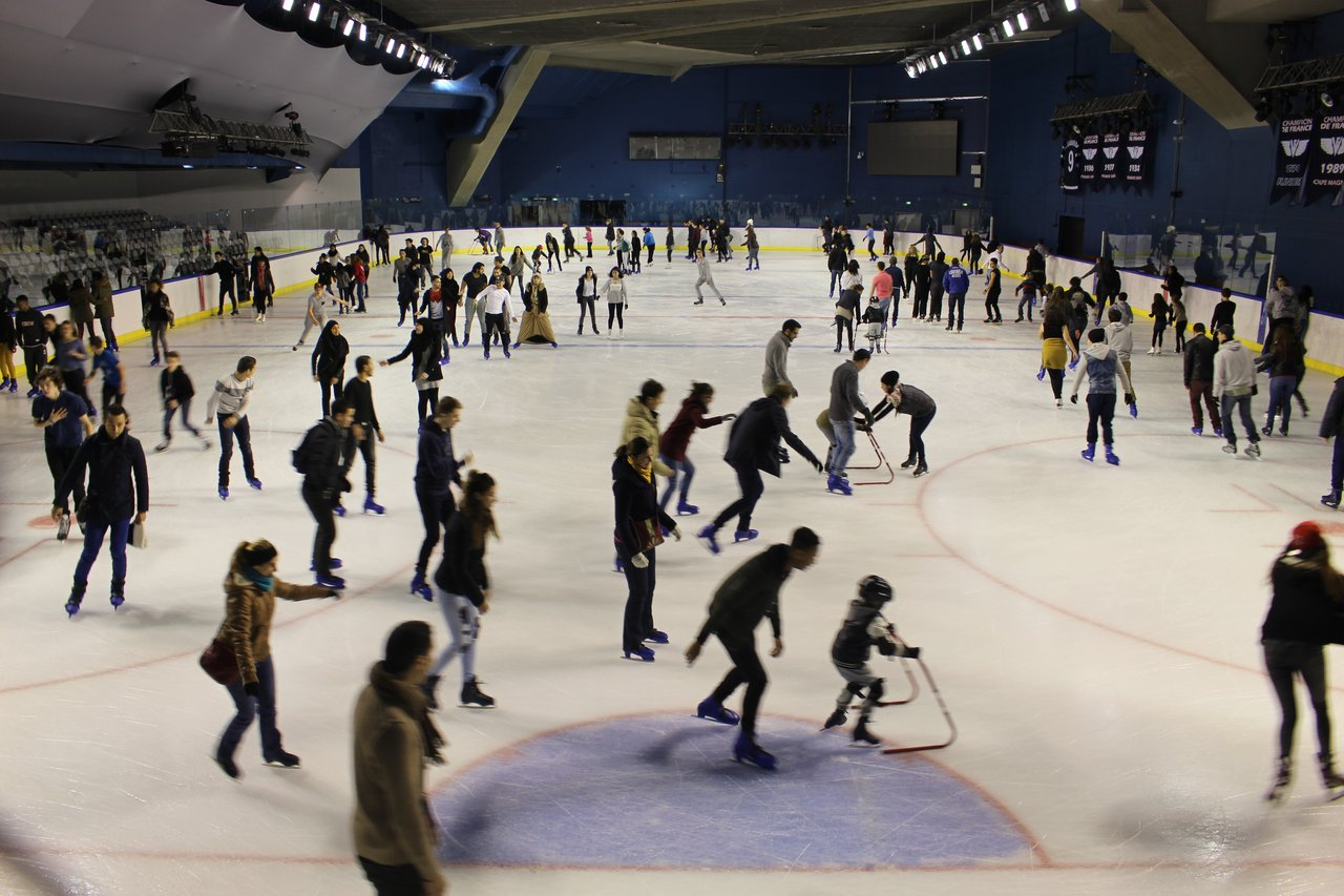 Ice rink at Accorhotel Arena, Paris