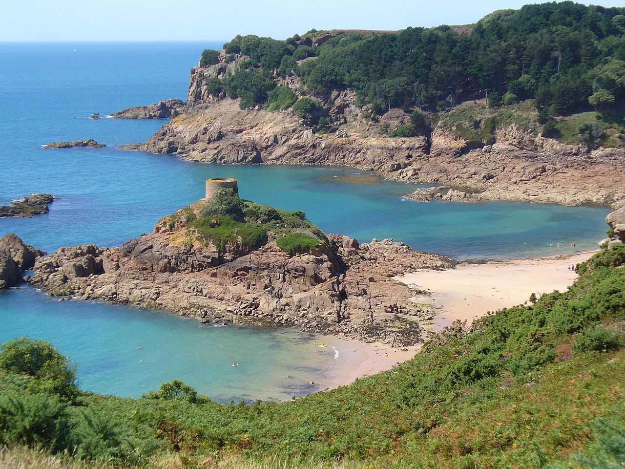 L'Île au Guerdain in Saint Brelade, Jersey