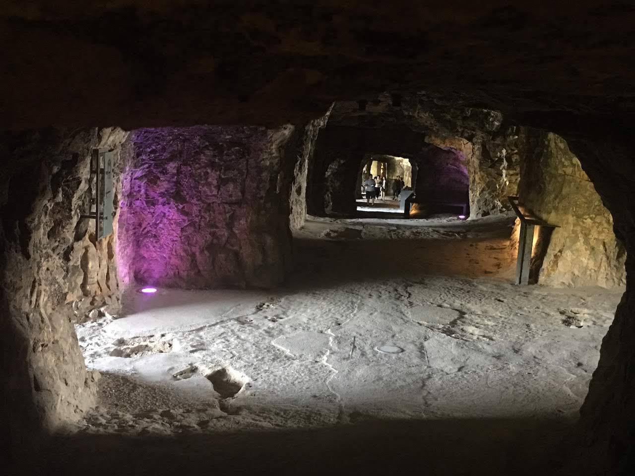 Inside Bock Casemates, Luxembourg