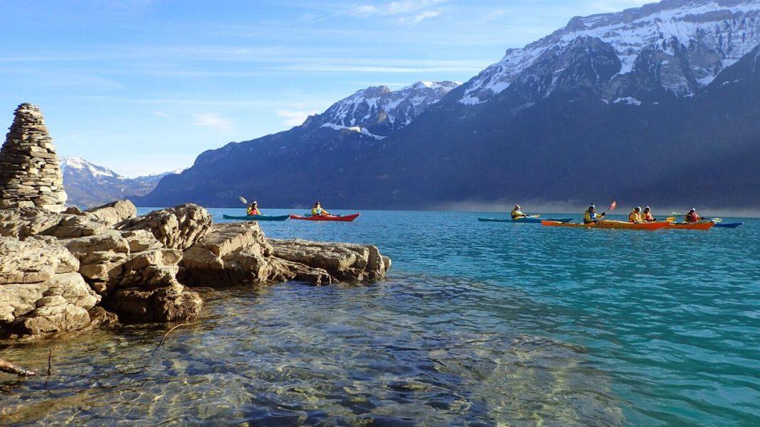 Interlaken Kayaking Lake Brienz