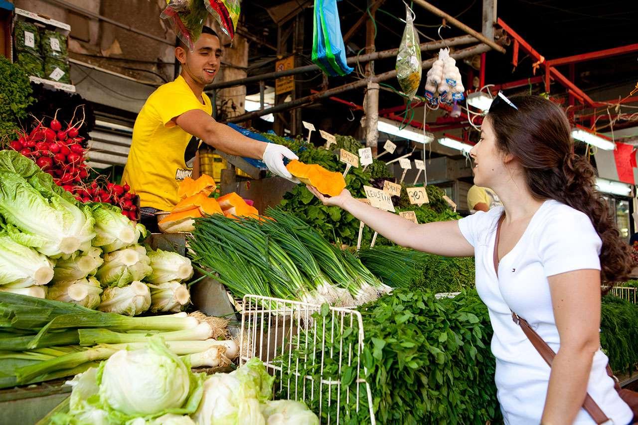 Israel - Tel Aviv - Carmel Market - vegetable