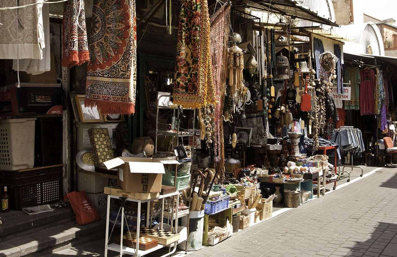 Israel - Tel Aviv - street bazaar