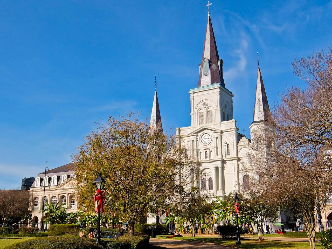 Jackson Square and the St. Louis Cathedral, New Orleans