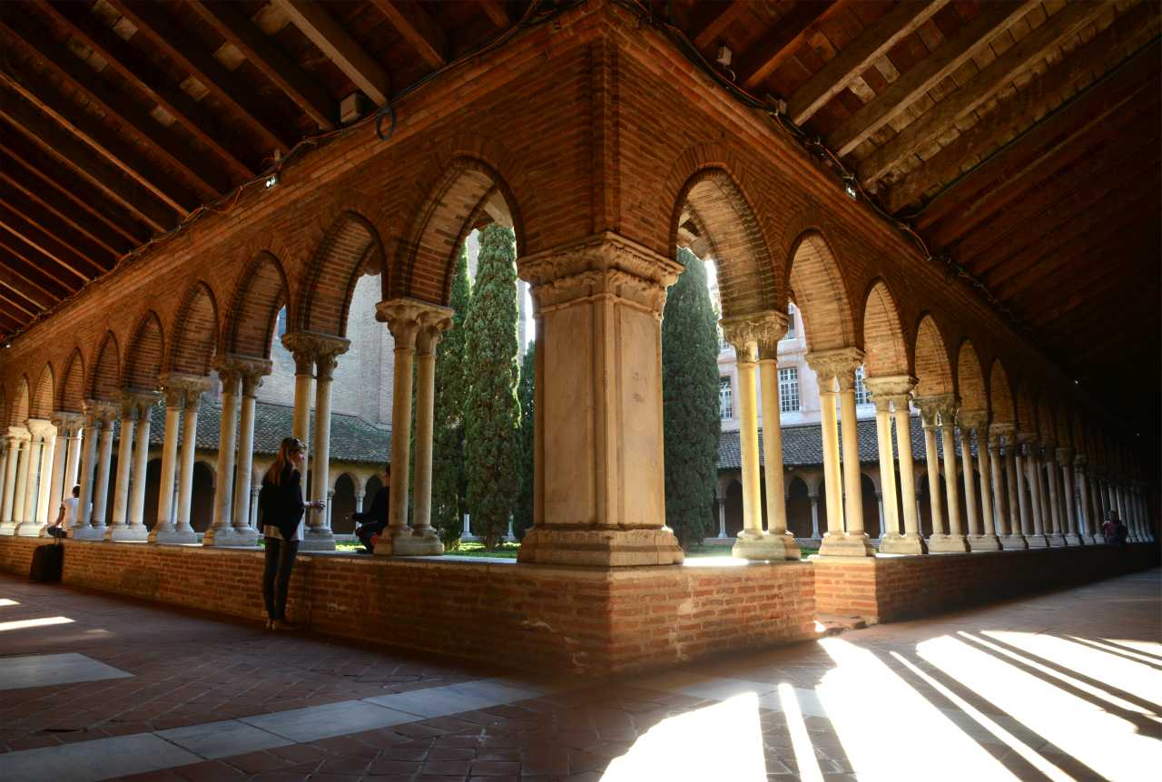 Jacobins Cloister Toulouse