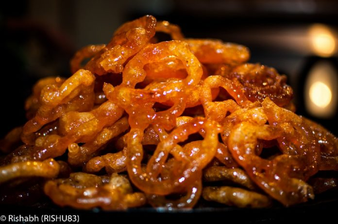 Jalebis - street food of Northern India