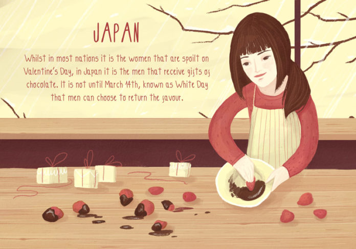 Valentine's Day Traditions from Around the World: Japan
