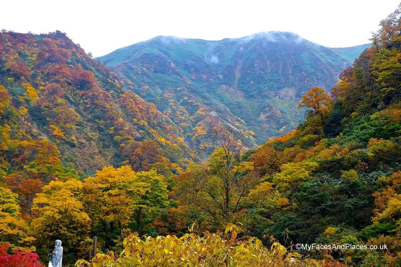 Japan - The autumn splendour of Mt Yudono