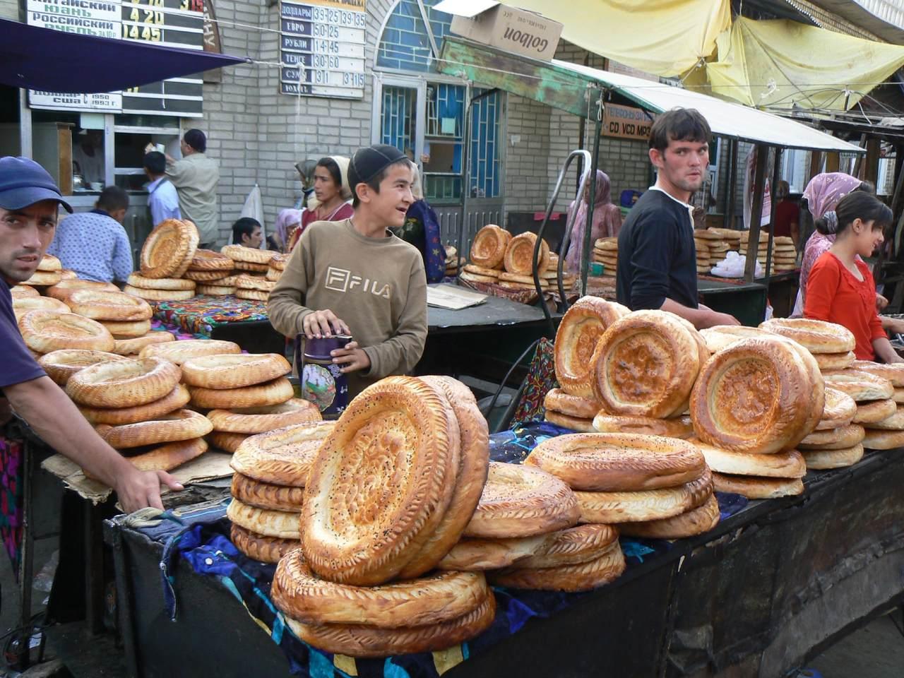 Jayma Bazaar in Kyrgyzstan