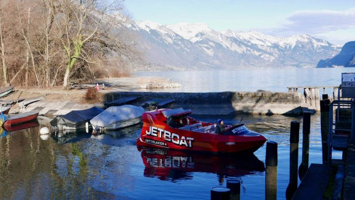Jetboat Interlaken