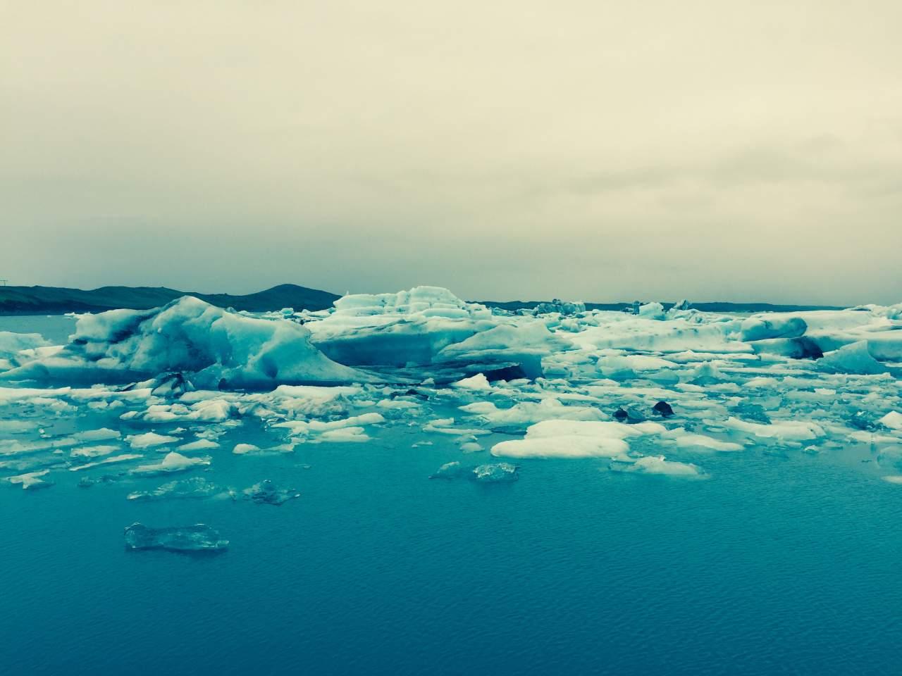 Ancient Icebergs, Iceland
