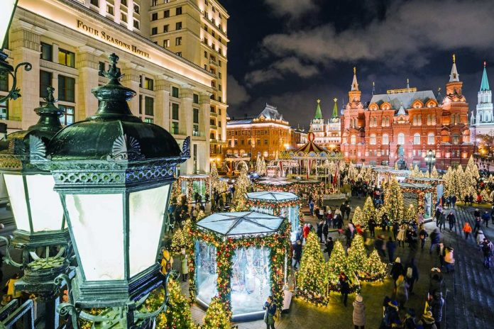 Christmas Festivals 2019 Journey to Christmas festival (Moscow, December 2018/January 2019)