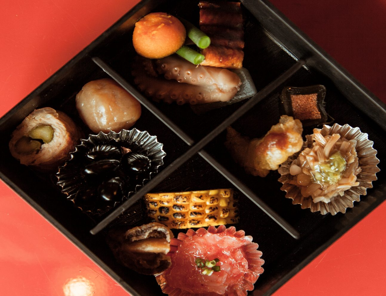 Kaiseki bento at Somaro