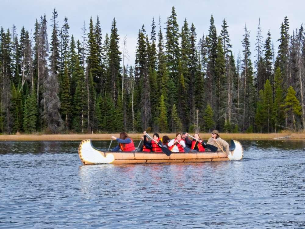 Kamloops Shuswap Canoe tour
