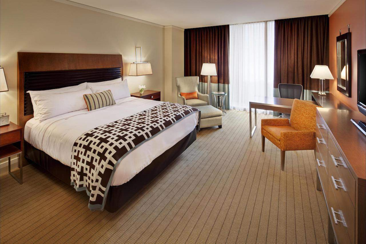 King Bed Fairmont Pittsburgh