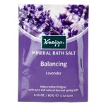 Kneipps bath crystals and mineral salts