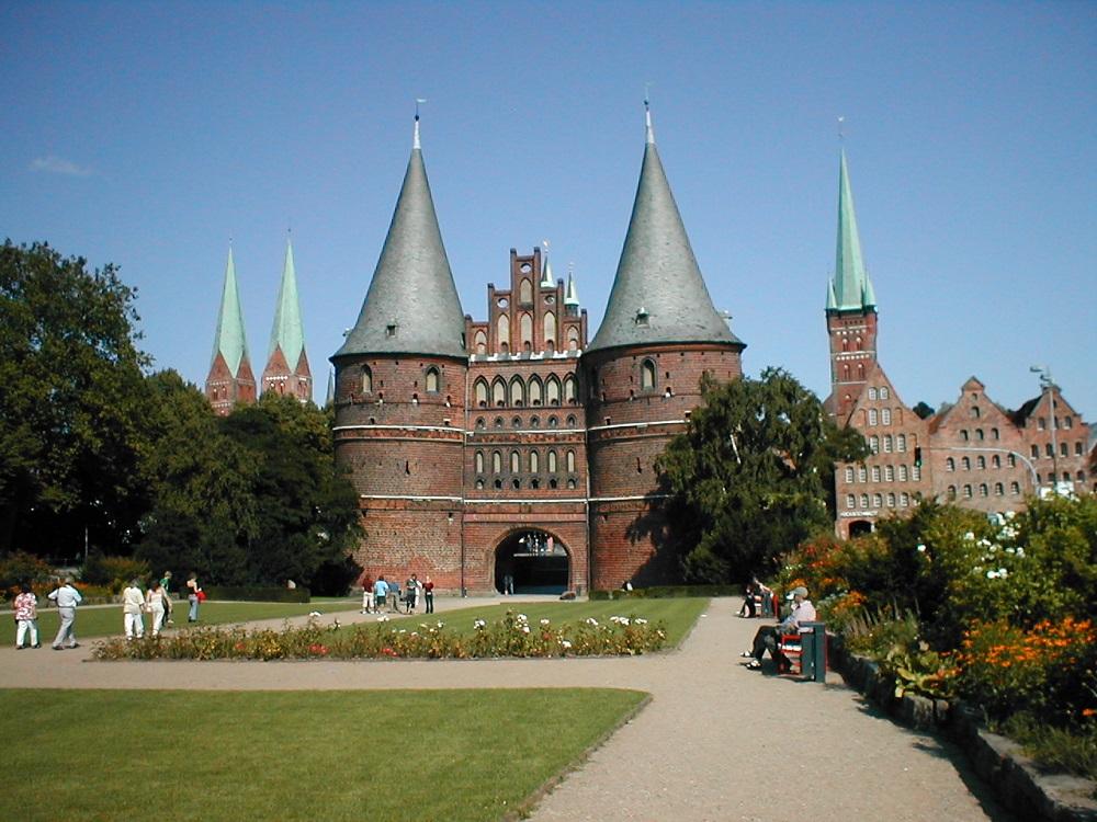 Holstentor gate Lubeck