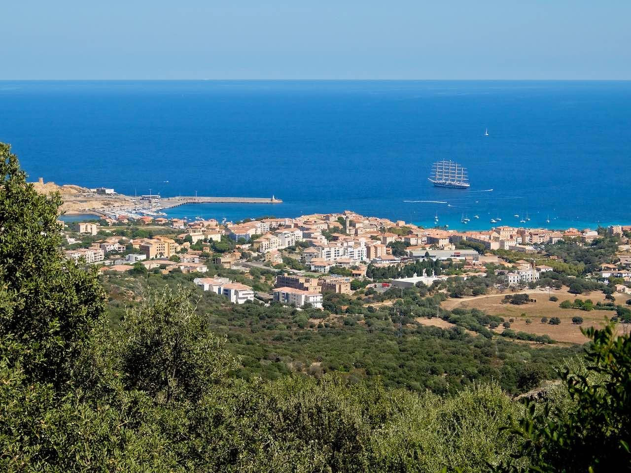 L'Isle Rousse, Corsica